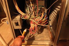 furnace fan wont shut off hvac ac unit won t turn on both inside blower fan and outside fan
