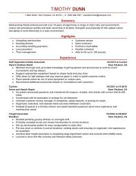 resume template for retail sales associate resume examples for retail jobs