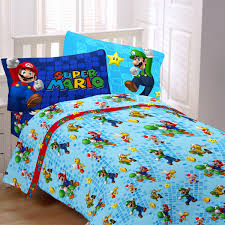 Mario Bedding Set Mario Fresh Look Bedding For