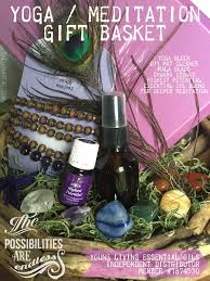 gift basket ideas for raffle gift basket for balance wellness and peace the lunar fae