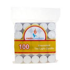 Cheap Tea Light Candles Amazon Com Country Dreams Unscented Tea Lights 100 Pkg White
