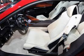 lexus lf fc interior salón de detroit 2012 lexus lf lc concept lista de carros