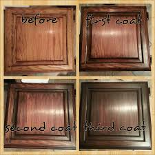 Gel Stain Kitchen Cabinets Before After Great Picture Study Of General Finishes Java Gel Stain Seven
