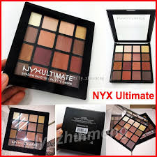 Make Up Nyx makeup nyx ultimate eye shadow palette nyxultimate shadow ombre