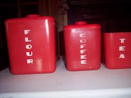 100 red kitchen canisters sets bamboo fiber kitchen