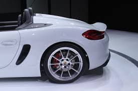 porsche boxster 2016 price porsche boxster spyder returns for 2016 autoguide com news