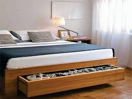 bed with storage underneath singapore bed frame with drawers