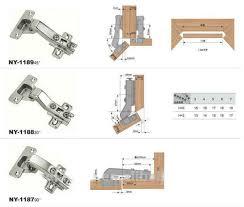 Best Hinges For Kitchen Cabinets Kitchen Cabinet Hinge Types Visionexchange Co