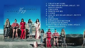 5 by 7 photo album fifth harmony 7 27 deluxe album bonus tracks