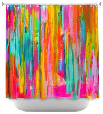 Animal Shower Curtain Shower Curtain Unique From Dianoche Designs Neon Double Abstract