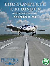 the complete cfi binder u2014 pilotnick publishing
