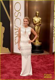 tyson beckford u0026 lara spencer oscars 2014 red carpet photo