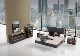 Contemporary Bedroom Sets Made In Italy Italian Modern Ebony Lacquer Eastern King Bedroom Set