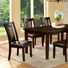 cherry kitchen table set emmons i contemporary dark cherry dining table set shop for