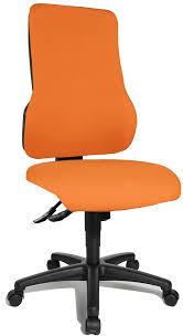 fauteuil de bureau orange chaise de bureau orange petit fauteuil design salon pas cher