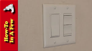how to install decorative bathroom light switches youtube