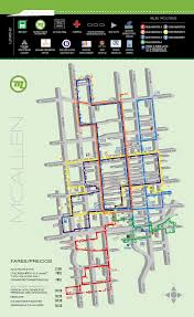 Metro Route Map by System Maps