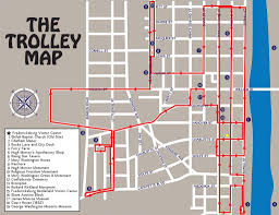 Stl Map Tour Map Trolley Tours Of Fredericksburgtrolley Tours Of
