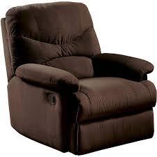 recliner black friday deals oakwood microfiber recliner multiple colors walmart com