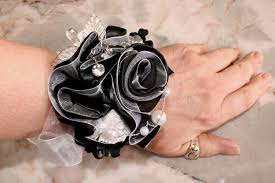 wrist corsage ideas prom corsage wedding wrist corsage black and white wrist