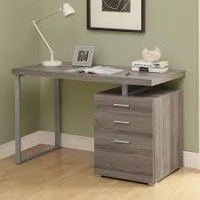 Furniture Unpolished Oak Wood Computer Desk Placed On Light Gray by Corner Computer Desk Withile Cabinet Bush Cabot Black Small
