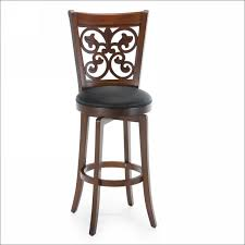 dining room high back stools industrial style bar stools with