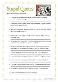 33 free esl indirect speech worksheets