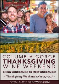 thanksgiving columbia gorge wine country