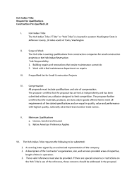 how to write a resume reference page hoh tribe chala at people of the hoh river request for qualifications construction pre qualified list page 1