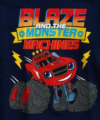 toddler boys blaze monster trucks navy shirt