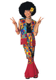 girls flower power hippie costume costumes hippie costume and