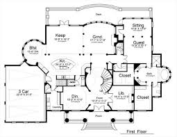 colonial house plan with 5 bedrooms and 4 5 baths plan 8079