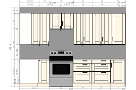 Standard Height For Kitchen Cabinets Kitchen Cabinets Dimensions Yeo Lab Com