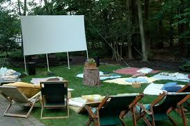 Backyard Theater Ideas Summer Diy Build A Backyard Theater Best Ideas Of Backyard