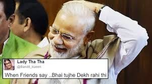 Latest Funny Memes - this photo of pm modi has led to a hilarious caption contest on