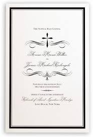 modern wedding program invitations cool wedding program templates for modern wedding