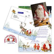 santa claus letters original letter italian christmas santa claus letters