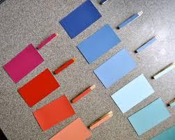 diy fun paint chip color match u2013 crumbbums