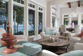 homes and interiors lakefront cottage with coastal interiors home bunch interior