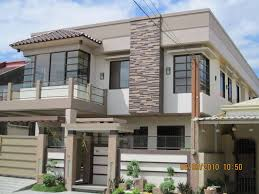 Modern Exterior House Design With Stone  Of  Images About - Exterior modern home design