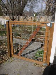 diy 2x4 wire filled gate neat idea for fencing to keep jessie