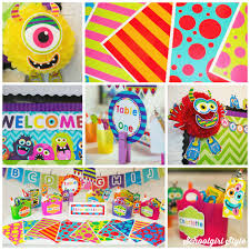 theme classroom decor interior design simple themed classroom decorations home