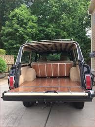 jeep grand wagoneer custom new vintage jeep wagoneer wood paneling we otomotive info