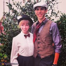 Chimney Sweep Halloween Costume Poppins Bert Couple U0027s Costume