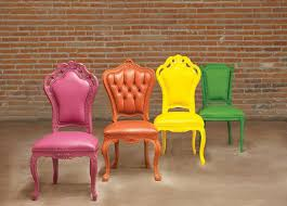 Colored Dining Chairs Colorful Furniture From Polart That Will Most Likely Change Your
