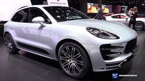 2017 porsche macan turbo 2017 porsche macan turbo exterior interior walkaround 2017