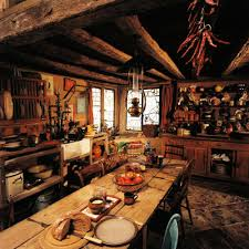 the burrow harry potter chamber of secrets the kitchen