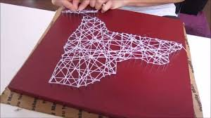 Home Decor New York by Diy String Art New York Home Decor Youtube