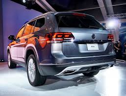 volkswagen atlas 7 seater 2018 atlas looks like it has the weight of volkswagen usa on its