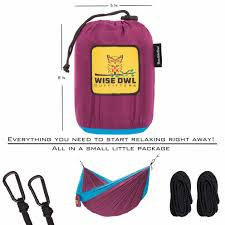 two person camping hammock backpacking hammock wise owl outfitters